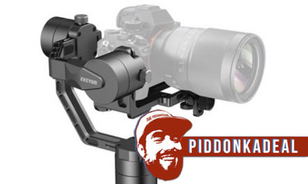 Piddonkadeal: You Too Could Make Cinematic Pro-level Videos With This Stabilizer