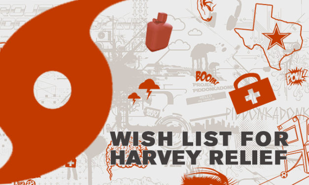 Wish List for Harvey Relief: Send Supplies to Disaster Zones