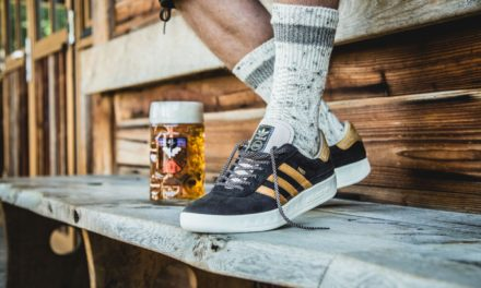 Puke & Beer Resistant Adidas Kicks for Oktoberfest