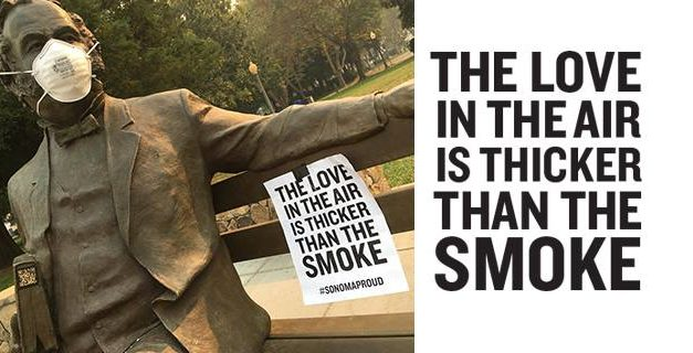 The Love in the Air is Thicker than the Smoke